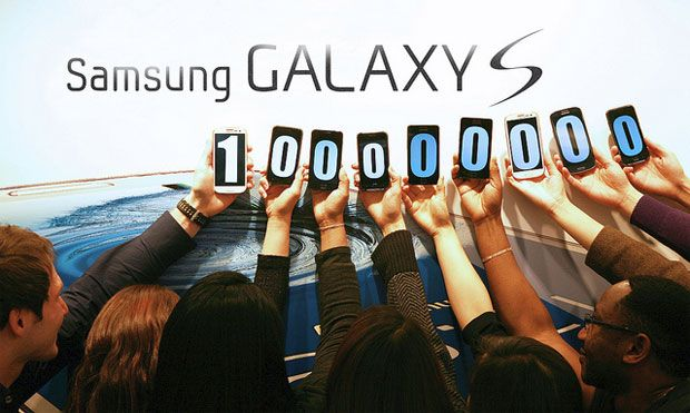 Samsung Galaxy S series: over 100 million served