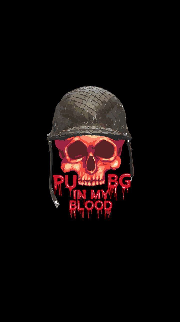 PUBG Skull iPhone Wallpaper | pubg lover | Skull wallpaper iphone