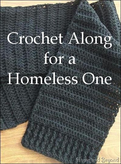 Knitting Scarves For The Homeless : Crochet along for a homeless one successes caring