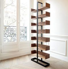 The Severin Bookshelf by Alex de Rouvray