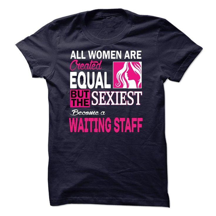 WAITING STAFF T-Shirts, Hoodies. VIEW DETAIL ==► https://www.sunfrog.com/LifeStyle/WAITING-STAFF-26587196-Guys.html?id=41382