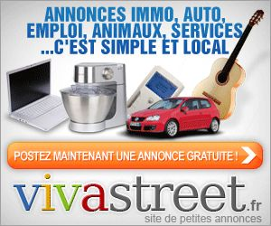 Vivastreet : c'est un site de petites annonces gratuites et au top de sa catégories, c'est le 2 second site le plus visité en terme de trafic, ce qui veut dire, qu'une annonce posée sur ce site c'est vous accorder toutes les chances d'acheter ou de vendre. http://www.topyweb.com/internet/top-sites-petites-annonces-gratuites.php