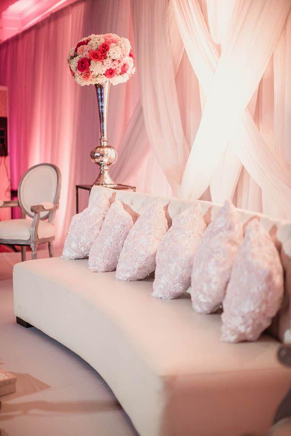 Such extravagant decor from this Dallas wedding | Photo by Shaun Menary via june.bg/1sPoB76