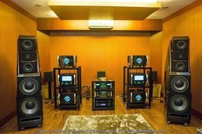 The Wilson Audio Alexandria XLF Speakers with McIntosh Labs MC2KW Power Amplifiers and electronics dCS Puccini CD Player and Master Clock #TheSpeakerShack #Speakers #McIntosh #HighEnd #Amplifiers #dCS #HighEnd #Music by thespeakershack http://ift.tt/1V2V6jB