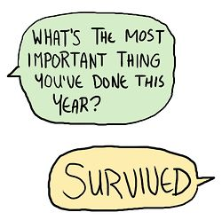 my survival year: 2014