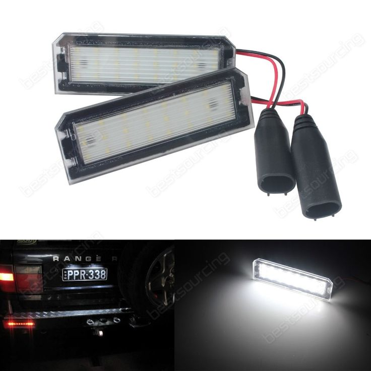 19.99$  Buy now - http://ali756.shopchina.info/go.php?t=32769565824 - 2 Licence Number Plate LED Light No Error 2012+  Rover Range Rover (L405) Rover Range Rover L405 Sport L494 (CA292)  #aliexpress