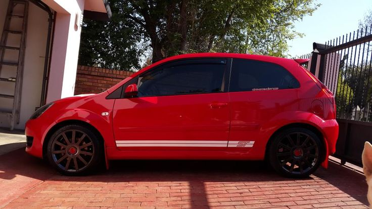 "2008 Ford Fiesta ST 190+ Wildcat Exhaust system, Red Front Strut Brace Fitted, Motorcade & Simota CAI induction, Magnecor 8mm, Ignition Leads for ST150, Engine Poly Mount, 60mm Throttle body, Brospeed Branch, Cosworth Camshafts 255"" Duration intake and exhaust Cams, CFM Underdrive Pulley, JamSport ST180 Map DSF Upload, Mountune Shortshift Billet Arm"