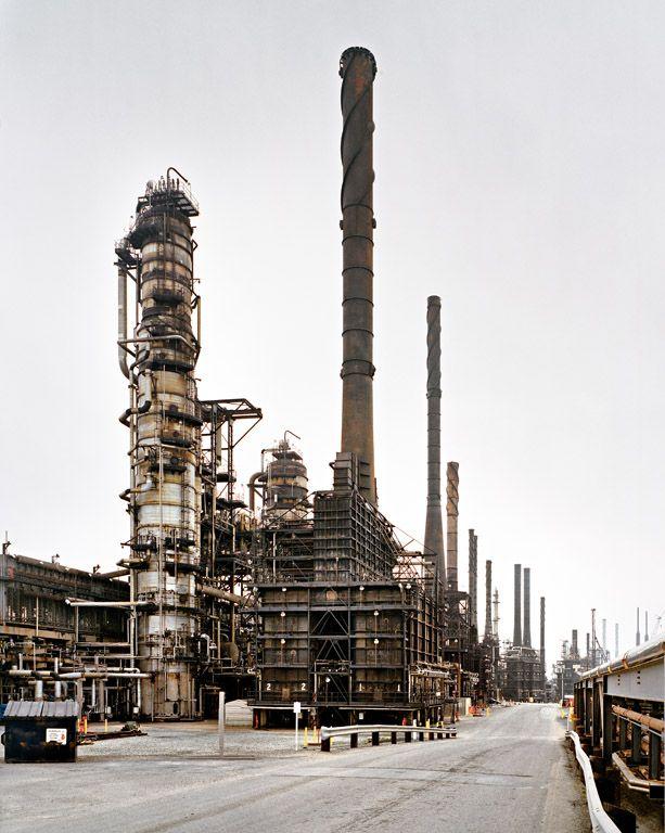 Oil Refineries #19 by Edward Burtynsky