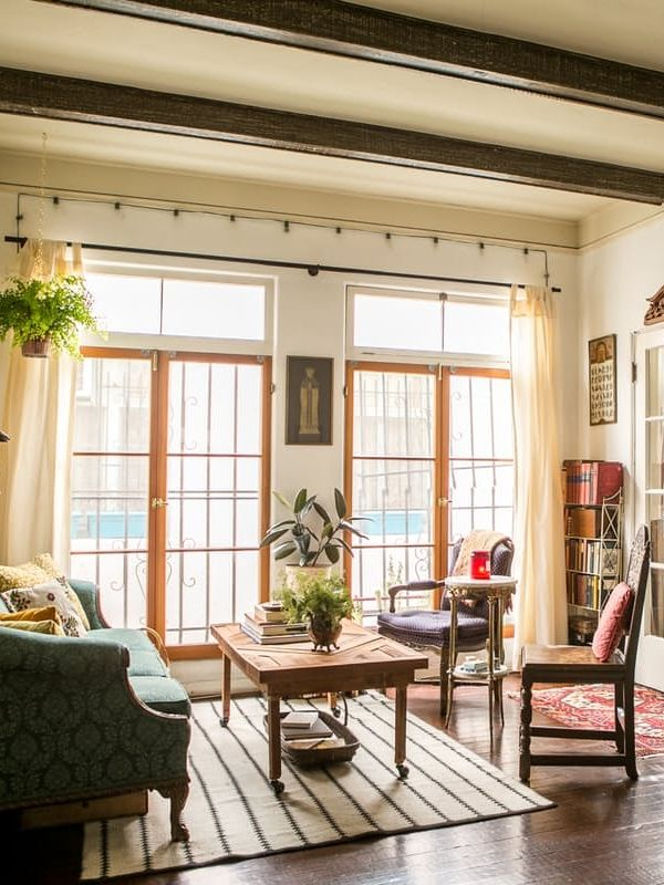 House Tour: A Small, Old World-Inspired LA Studio   Apartment Therapy