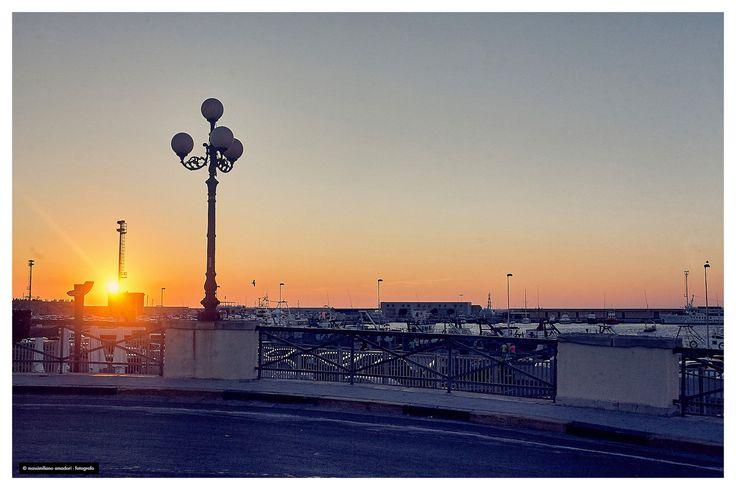 https://flic.kr/p/JPrDrZ | tramonto | sul porto di gallipoli