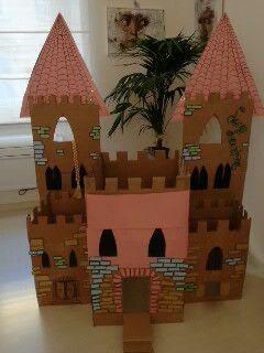 ... Pinterest  Scatole Di Cartone, Forte Di Cartone e Castello Di Cartone