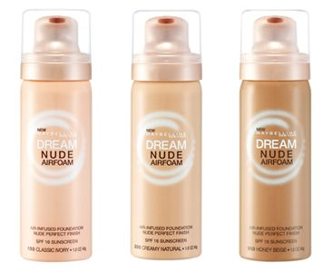MAYBELLINE DREAM NUDE AIRFOAM MAKEUP FOUNDATION available at keekay.ph! Shop now! :
