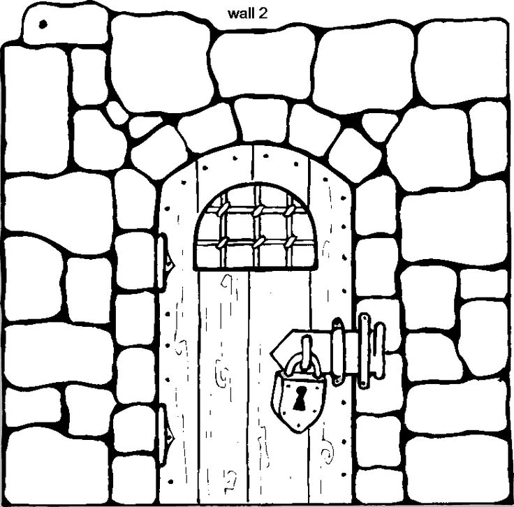 peter john jail Colouring Pages