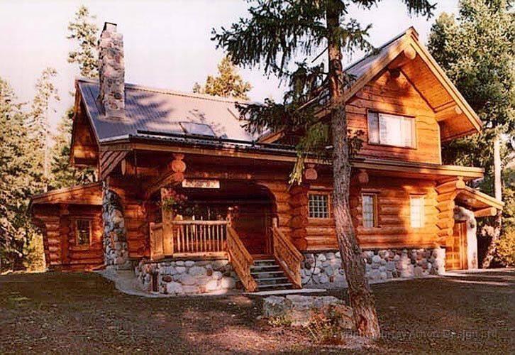 Lovely Log Cabin Dream Home Pinterest Middle Cabin