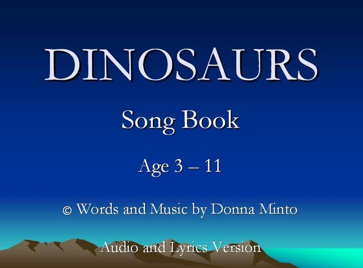Stegosaurus Song - A fun song about a Stegosaurus.