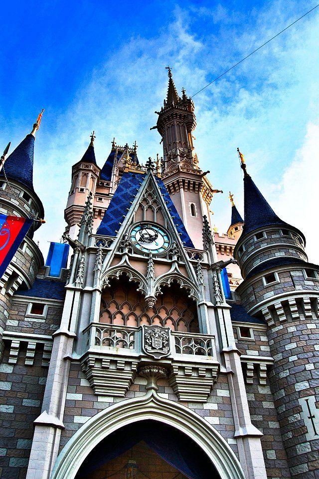 Pin By Angela D On Disney Disney World Cinderella Castle Disney Wallpaper
