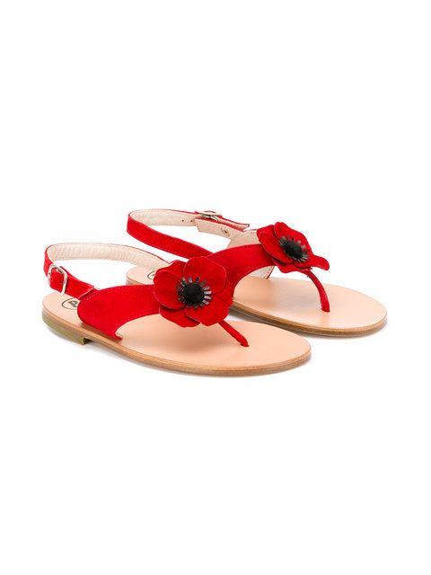 Pèpè Papavero poppy sandals