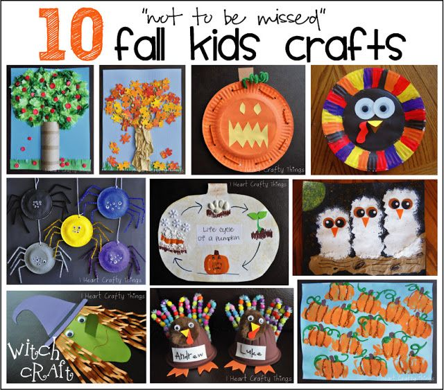 """10 """"not to be missed"""" Fall Kids Crafts  - Pinned by @PediaStaff – Please Visit  ht.ly/63sNt for all our pediatric therapy pins"""