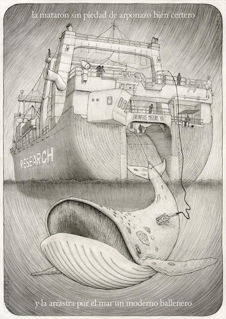 """""""la ballena azul #2"""" (gorka olmo, 2011)"""