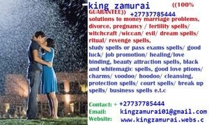 Top Lost Love Spell Caster joz's most respected healer Johannesburg, capetown - Johannesburg - free classifieds in South Africa