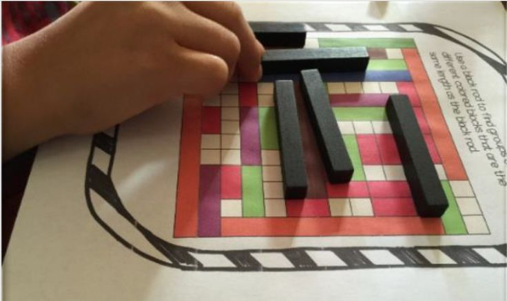 A fun search and find activity for cuisenaire rods filled with endless fun