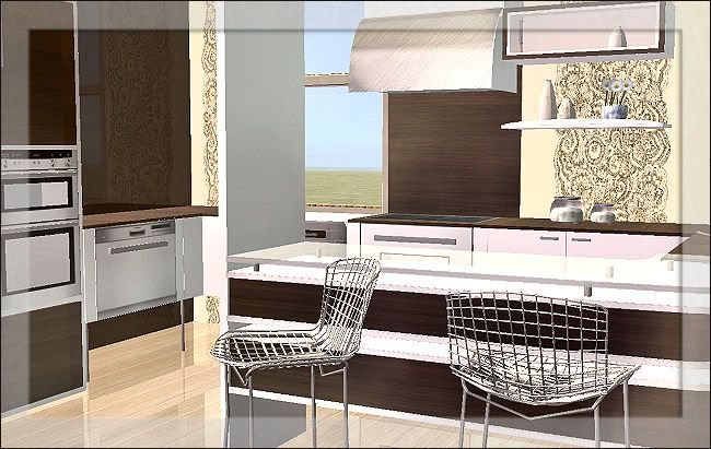 Sims in paris kitchen 4 downloads bps community sims for Sims 2 kitchen ideas