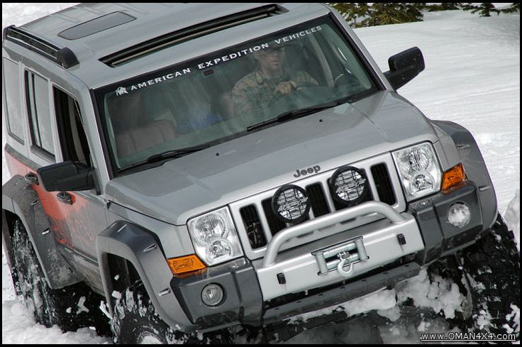 Jeep Commander Off-Road | Jeep Commander Off Road Accessories