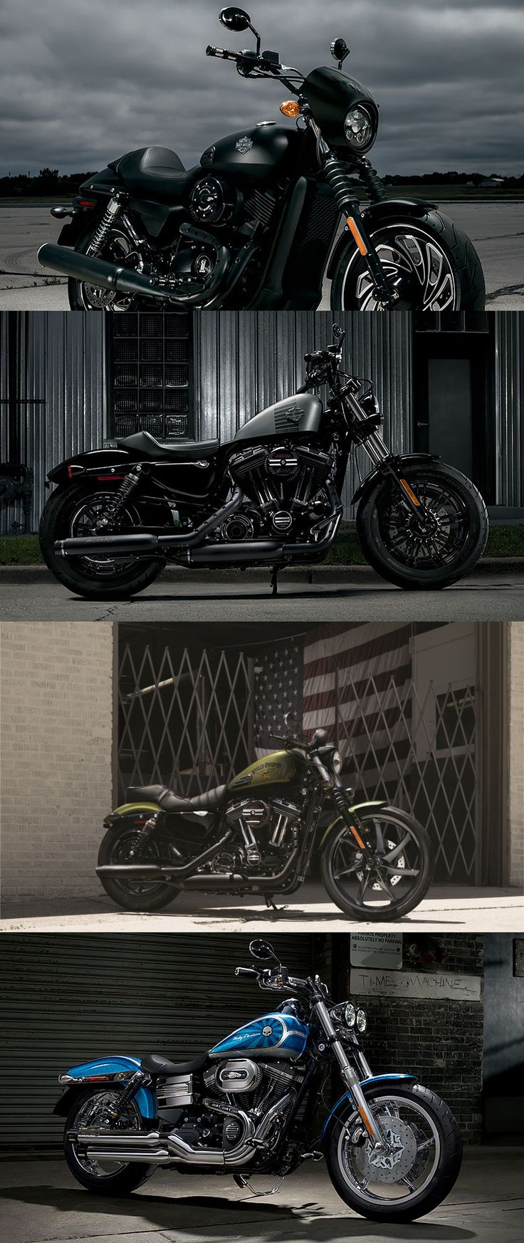 Check out this #DarkCustom gallery to get inspired. | Harley-Davidson #DarkCustom Parts and Accessories