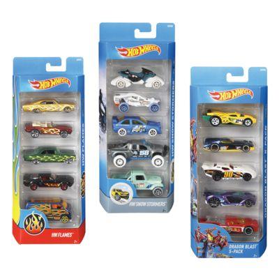 hot wheels pack de 5 voitures - Voitures Hot Wheels