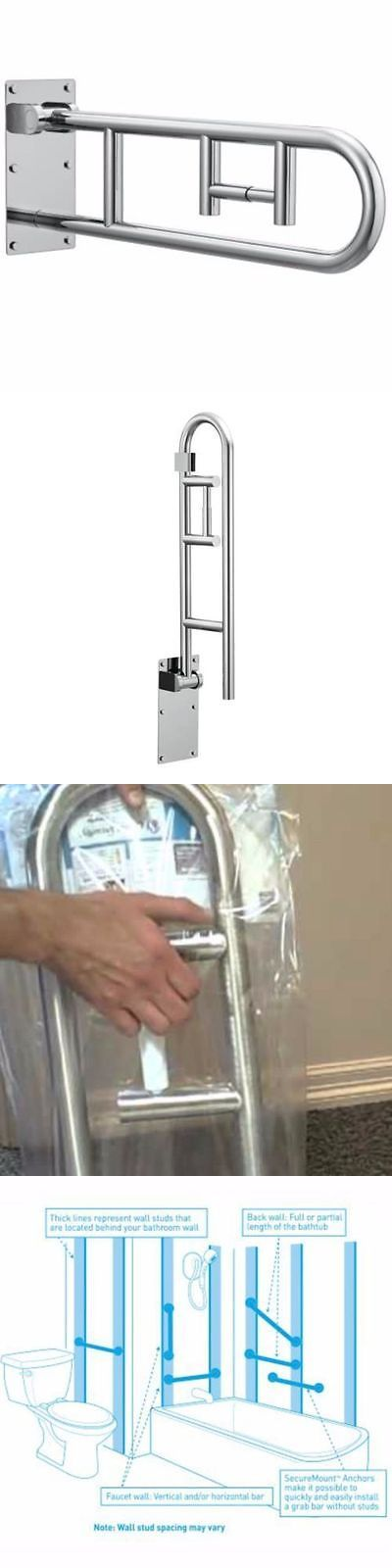 Handles and Rails: Safety Grab Bar Rail Frame Bathroom Toilet Support Handicap Holder Handle Aid -> BUY IT NOW ONLY: $107.45 on eBay!