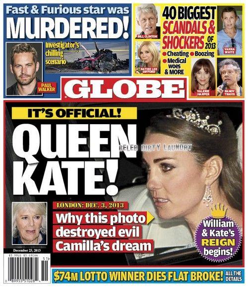Princess Kate Crushes Camilla Parker-Bowles' Greedy Ambition: Queen Elizabeth Lets Kate Wear a Symbol of the Monarchy (PHOTO) #KateMiddleton
