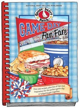 all goose berry cookbooks | received a Gooseberry Patch Cookbook called Game-Day Fan Fare to ...