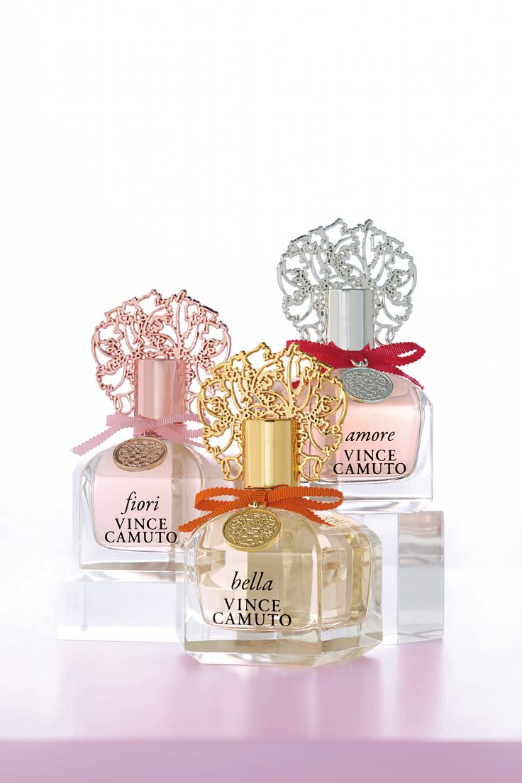 Vince Camuto Bella, Fiore, and Amore Women's Fragrances - Scents we love for Spring