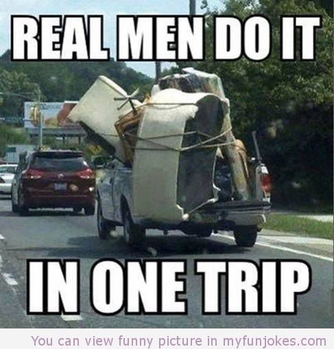 Real men meme