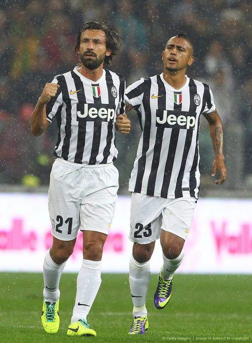 Andrea Pirlo, Arturo Vidal, Juventus COMO SE LES EXTRAÑA!!!!!!!!!