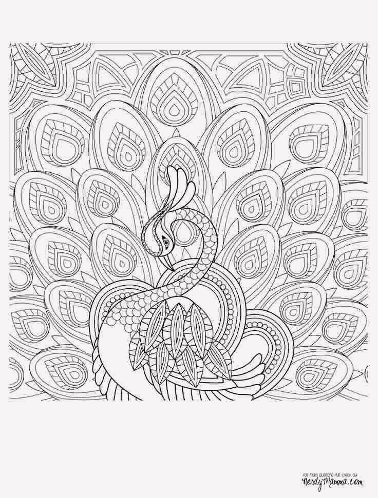 15 Free Printable Coloring Pages For Adults Advanced Dragons Mandala Coloring Pages Cool Coloring Pages Peacock Coloring Pages