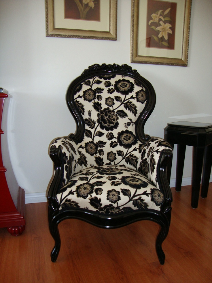 Front Victorian Chair After