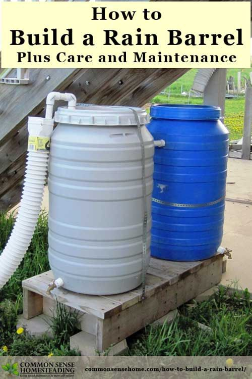 357 best water storage filtration images on pinterest for Build your own rain collection system