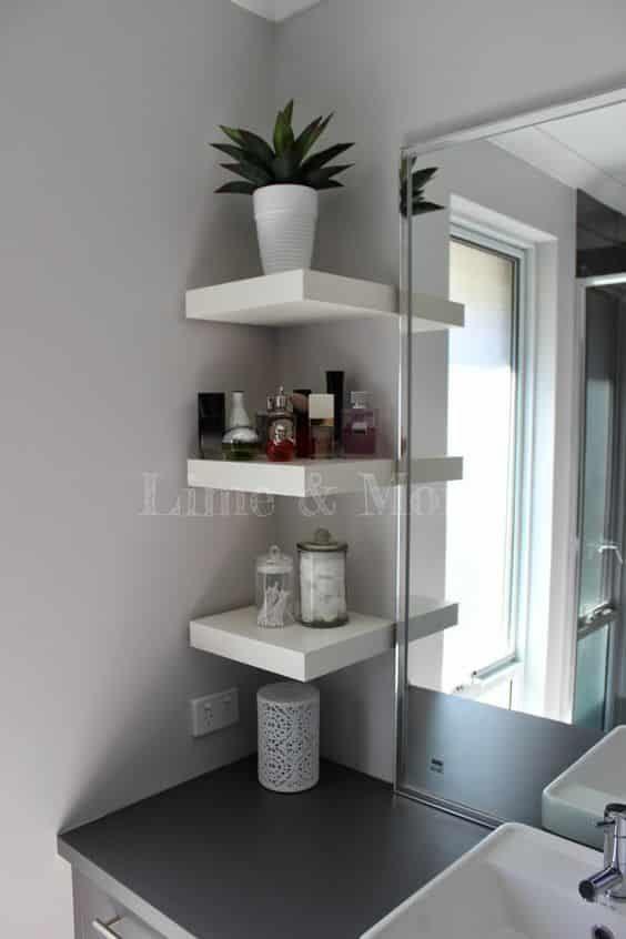 32 verschiedene Dekorations- und Kombinationsideen mit Ikea Lack Wall Rack – Demet Özkan