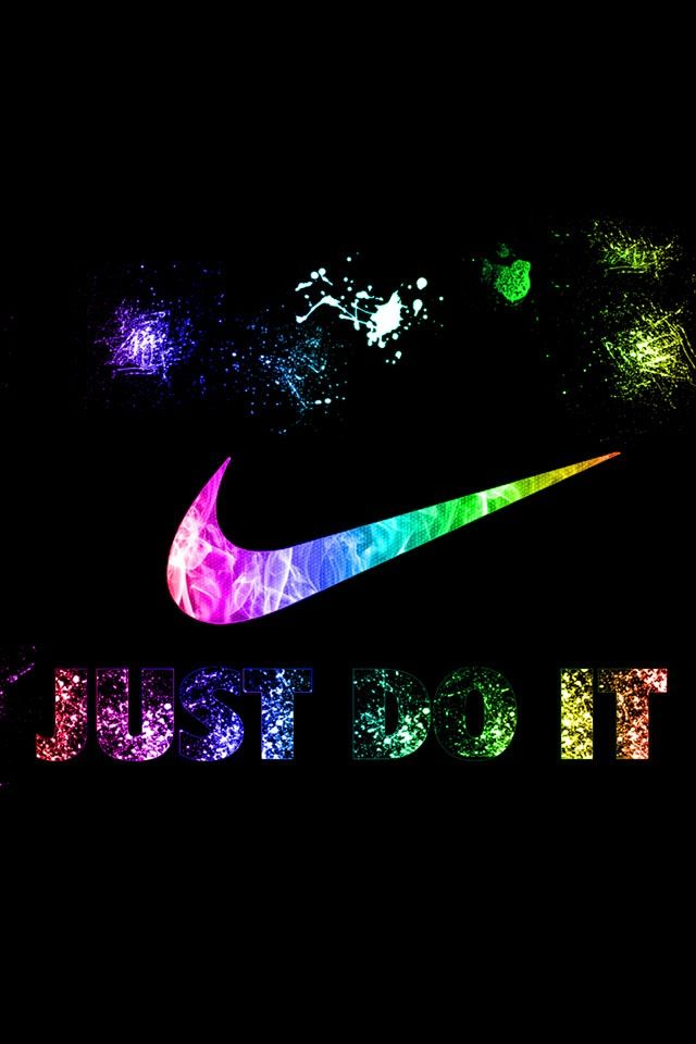 Nike just do it multicolore