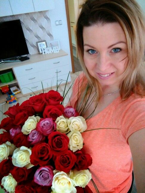 My and my 40 roses