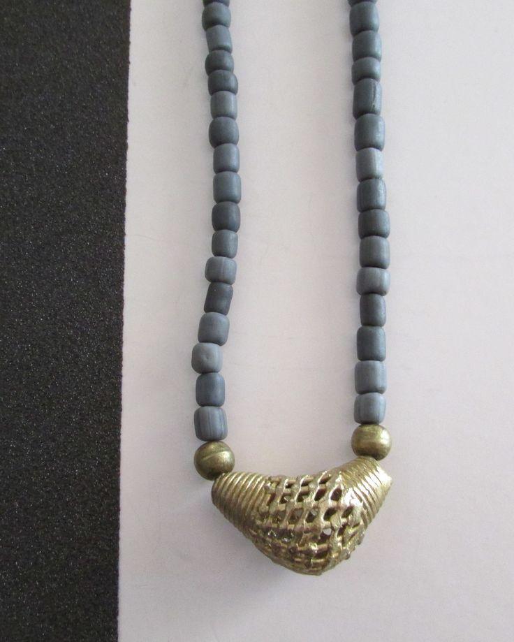Blue Ethnic Necklace