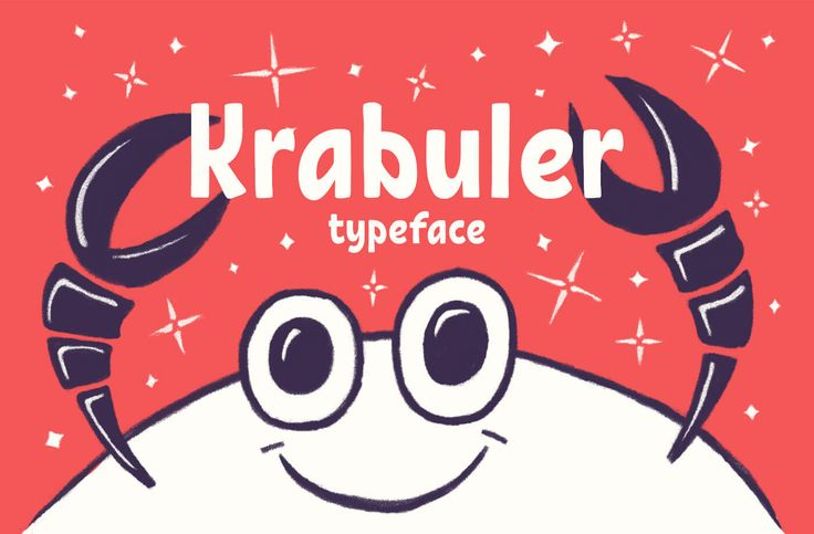 Fresh Free Font Of The Day : Krabuler