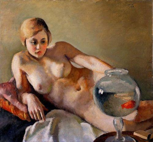 cg54kck:Chessa, 1928Felice Casorati (Italian1883-1963)