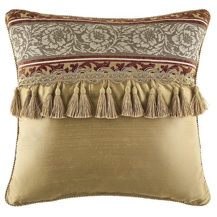 Decorative Bed Pillows Pinterest : Decorative Pillows Fresco Decorative Pillows #yellowDecorativePillows #Earandlace #flower ...