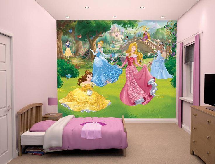 6 prachtige prinsessen, evenals een magische regenboog, het beroemde kasteel van Disney en natuurlijk de meest mooie bloemen en vogels. De Prinsesjes Sneeuwwitj