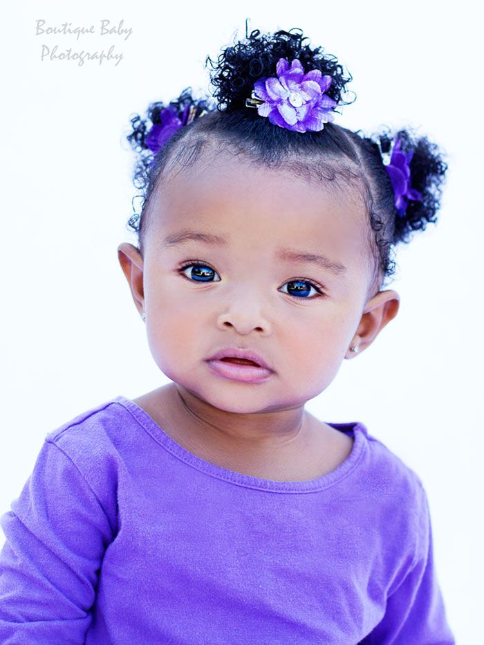 Best 25 black baby hairstyles ideas on pinterest black baby little cutie dressed in purple ccuart Choice Image
