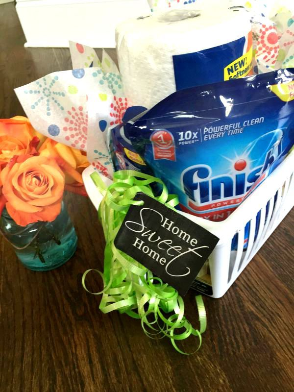 Welcome Home Gift idea with free printable