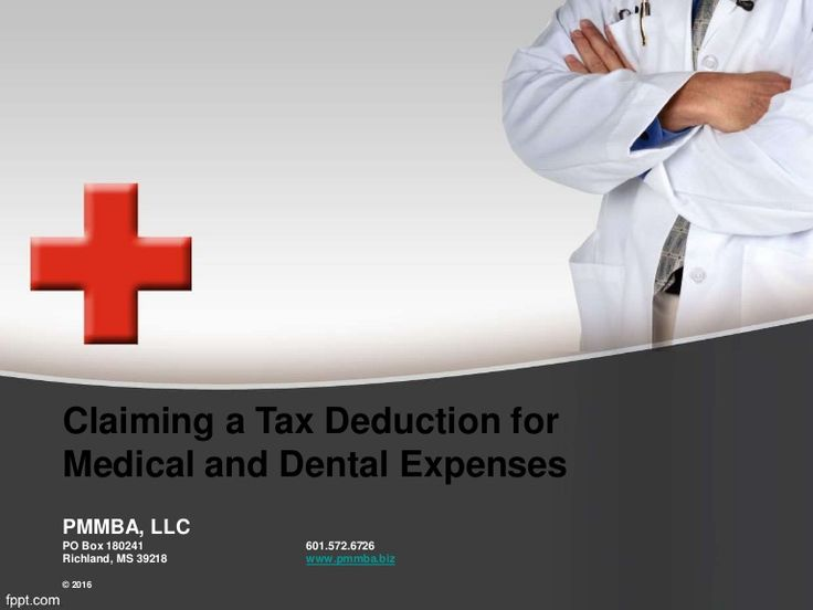 Your medical expenses may save you money at tax time, but a few key rules apply. Here are some tax tips to help you determine if you can deduct medical and den…