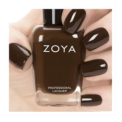 A cool-toned chocolate brown ~ yum!  Zoya-Nail-Polish-in-Louise-ZP694  Zoya Nail Polish in Louise Color Description  Zoya Nail Polish in Louise can be best described as rich chocolate brown cream - color you can just dive into. Color Family Browns Color Finish Cream Color Intensity 5 ( 1=Sheer - 5=Opaque ) Color Tone Cool